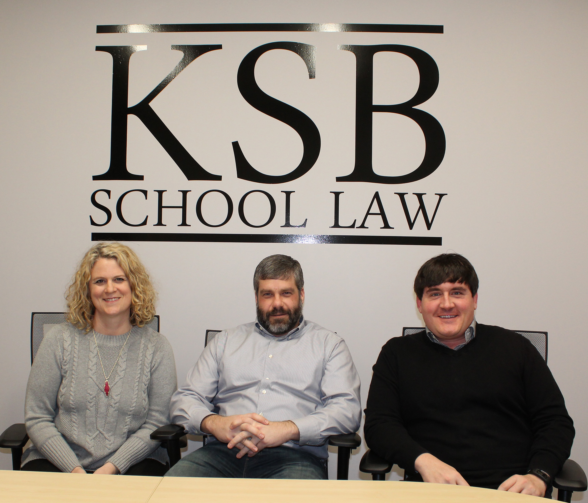 New School Law: Trio of Lincoln lawyers stand in the corner